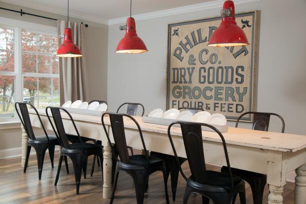 Dining Rom Wall Decor Ideas: Vintage Sign - Cabritonyc.com