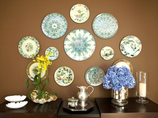Dining Room Wall Decor Ideas: Plate Collection - Cabritonyc.com