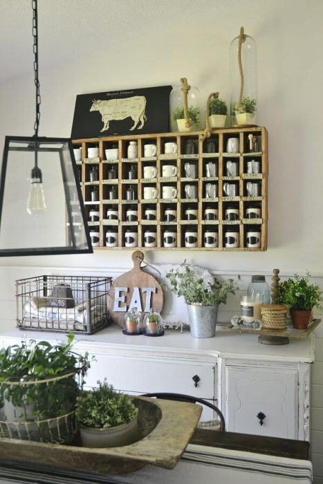 Old Farmhouse Dining Room Wall Decor with Beauty and Functionality - Cabritonyc.com