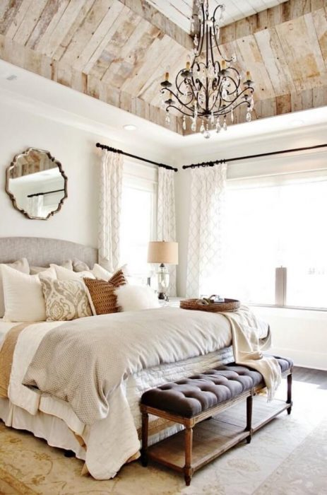 French Country Decor Ideas - Stunning French Country Inspired Bedroom - Cabritonyc.com