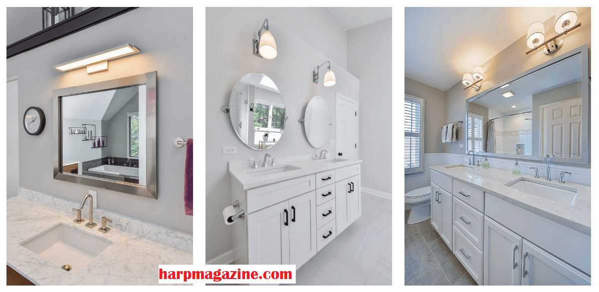 Bathroom Mirrors Ideas One or Two Bathroom Mirrors - Cabritonyc.com