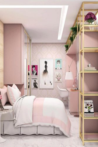 Teenage Girl's Bedroom Ideas - Easy And Clever Teen Bedroom Idea - Cabritonyc.com