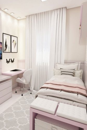 Teenage Girl's Bedroom Ideas - Cool And Calm Teen Room Design Ideas - Cabritonyc.com