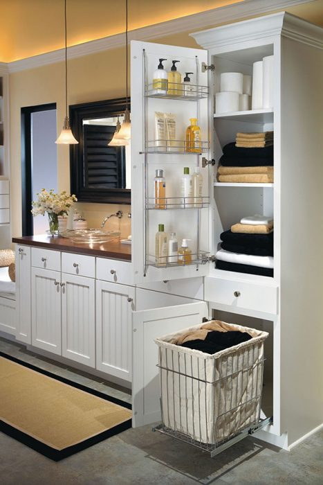 Bathroom Storage Ideas - Lightweight and Durable - Cabritonyc.com