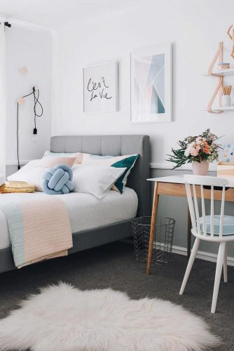 Teenage Girl Bedroom Ideas - Stylish Teen Girl's Bedroom Idea - Cabritonyc.com