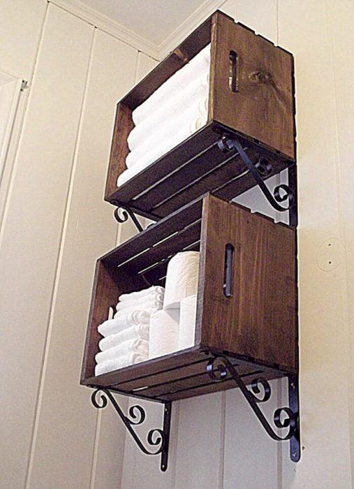 Bathroom Storage Ideas - Creative Crate Shelving - Cabritonyc.com