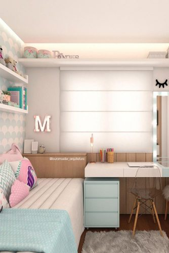 Teenage Girl's Bedroom Ideas - Cute Modern Teen Bedroom For Girls - Cabritonyc.com