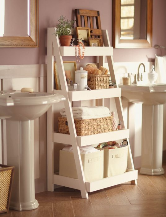 Bathroom Storage Ideas - A-Plus Shelves - Cabritonyc.com