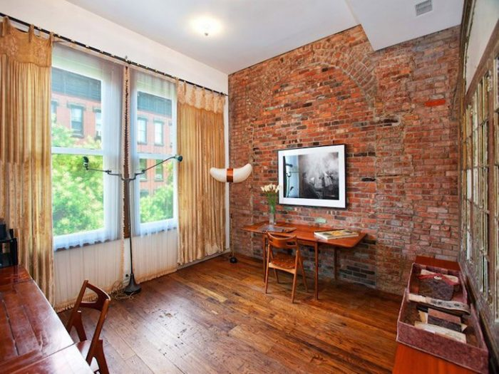 Accent Wall Ideas - Exposed Brick - Cabritonyc.com