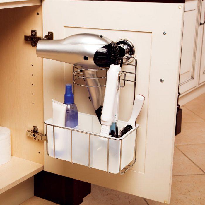 Bathroom Storage Ideas - Tangle-Free - Cabritonyc.com