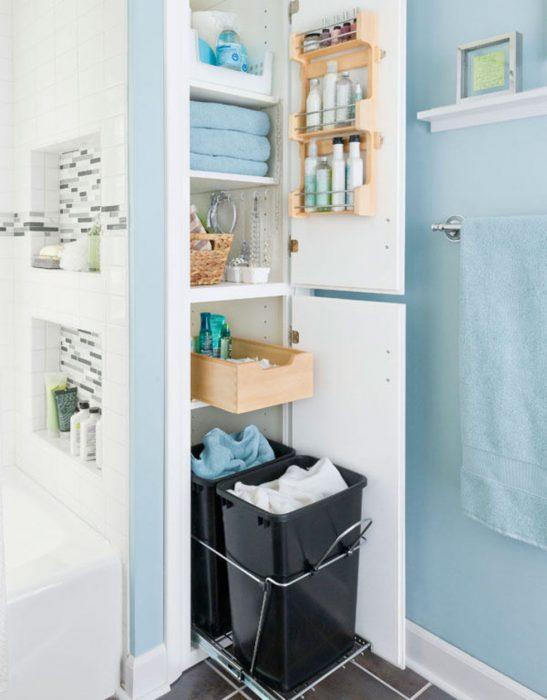 Bathroom Storage Ideas - Maximizing Closet Space - Cabritonyc.com