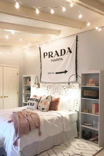 Teen Girl's Bedroom Ideas - Cozy And Simple Teen Bedroom Idea - Cabritonyc.com
