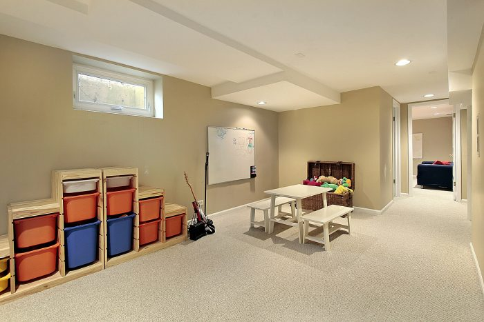 Low Basement Ceiling Ideas - Painting Tips To Make Basement Ceiling Look Higher - Cabritonyc.com