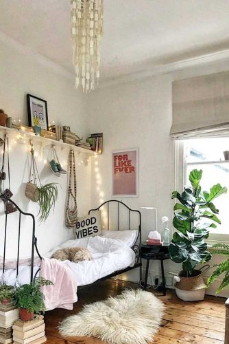 Teen Girl's Bedroom Ideas - Boho Teenage Girl Bedroom Idea - Cabritonyc.com