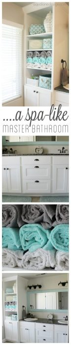 Bathroom Storage Ideas -The Spa Treatment - Cabritonyc.com
