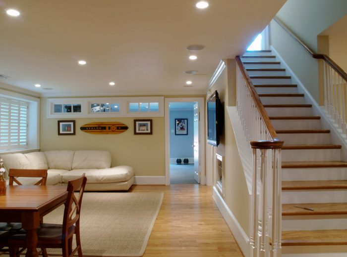 Low Basement Ideas - Decorating Tips To Make Basement Ceiling Look Higher- Cabritonyc.com