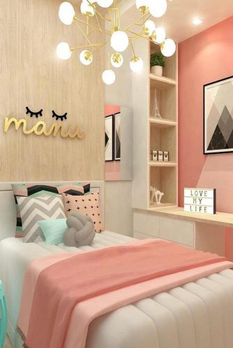 Teenage Girl's Bedroom Ideas - Cute Colorful Teen Bedroom Idea - Cabritonyc.com
