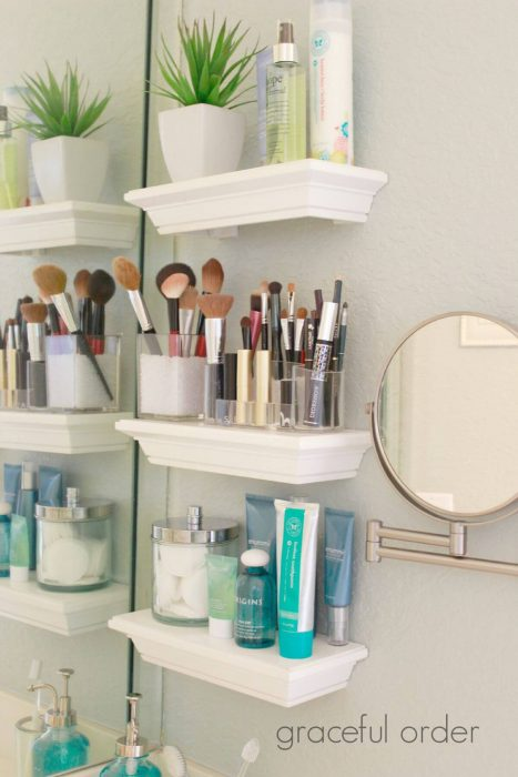 Bathroom Storage Ideas - Ditch the Medicine Cabinet - Cabritonyc.com