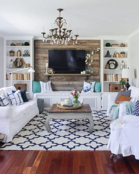 Rustic Chic Living Rooms Ideas - Bright Chic Living Room Design - Cabritonyc.com