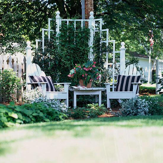 Backyard Landscaping Ideas - Create a Cozy Backyard Corner - Cabritonyc.com