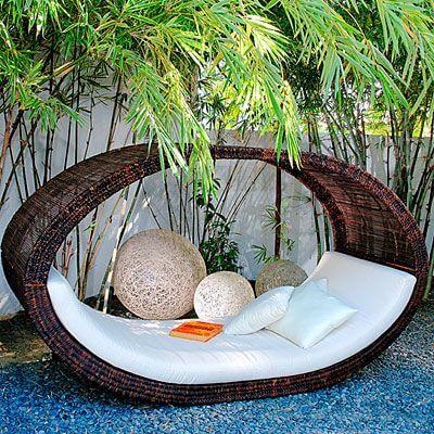 Backyard Landscaping Ideas - Fancy Wicker Furniture - Cabritonyc.com