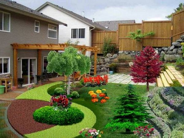 Front Yard Landscaping Ideas Beautiful House Front Yard Designs - Cabritonyc.com