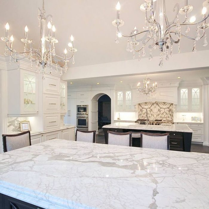 Kitchen  Lighting Ideas - Glam Chandeliers E - Cabritonyc.com