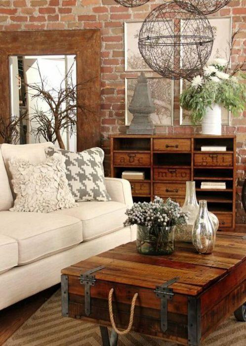 Rustic Chic Living Rooms Ideas - Elegance Ahoy! - Cabritonyc.com