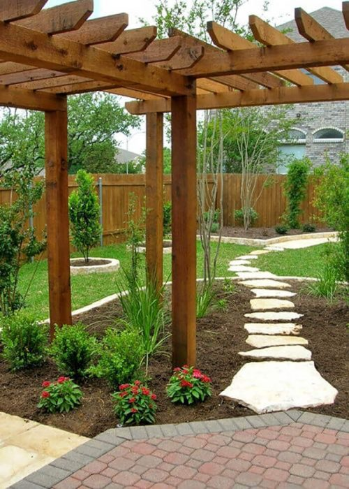 Backyard Landscaping Ideas - Wandering Paths - Cabritonyc.com
