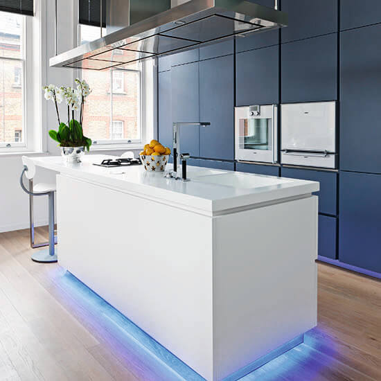 Kitchen Lighting Ideas - Blue Notes - Cabritonyc.com