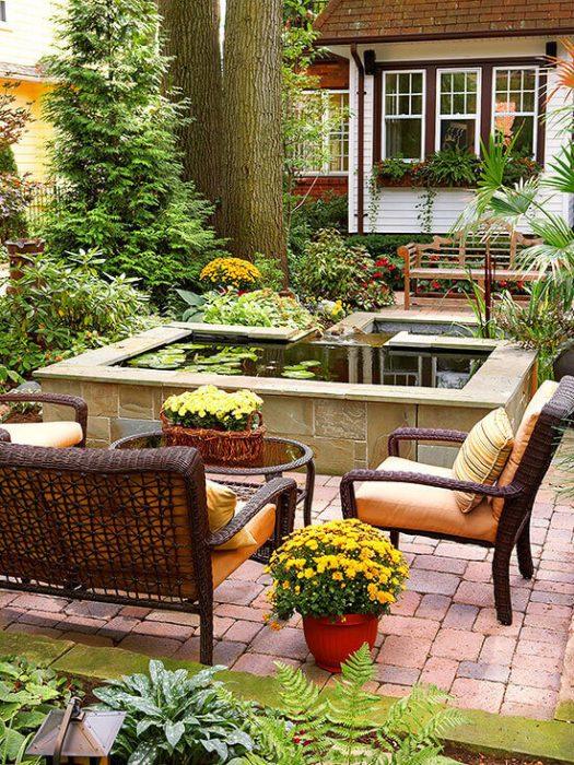 Backyard Landscaping Ideas - Reflect the Sky - Cabritonyc.com