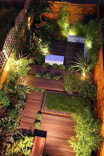 Backyard Landscaping Ideas - Asymmetrical Decking - Cabritonyc.com