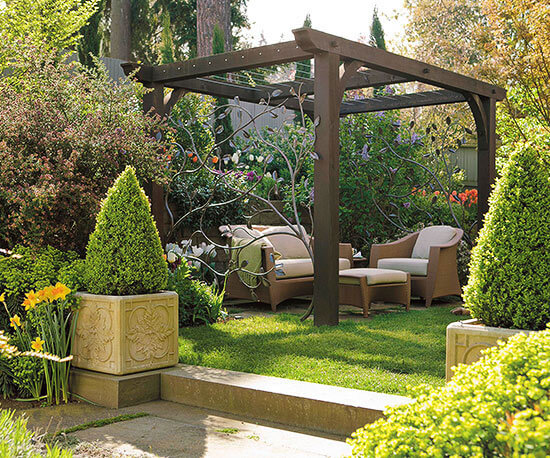 Backyard Landscaping Ideas - Add a Pergola - Cabritonyc.com
