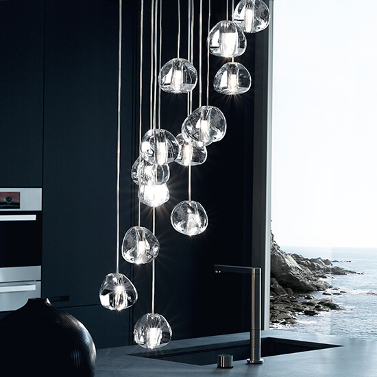 Kitchen Lighting Ideas - Statement Lighting - Cabritonyc.com