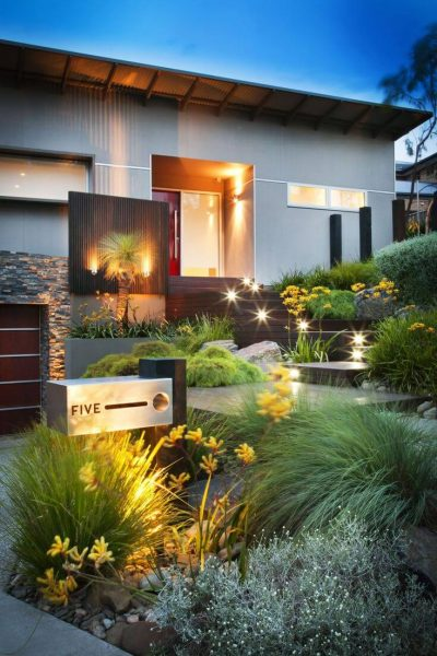 Front Yard Landscaping Ideas: Cactus-Free Desert Landscaping