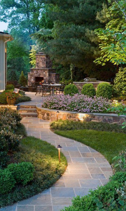 Backyard Landscaping Ideas - Fireplace Patio - Cabritonyc.com