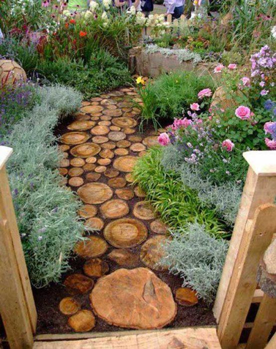 Backyard Landscaping Ideas - Cute Pathway Idea - Cabritonyc.com