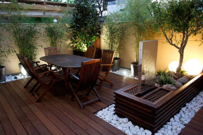 Backyard Landscaping Ideas - Sleek Patio Area - Cabritonyc.com