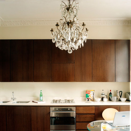 Kitchen Lighting Ideas - Add A Statement Chandelier - Cabritonyc.com