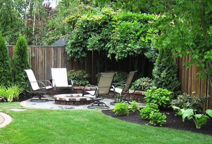 Backyard Landscaping Ideas - Focus on the Fire - Cabritonyc.com