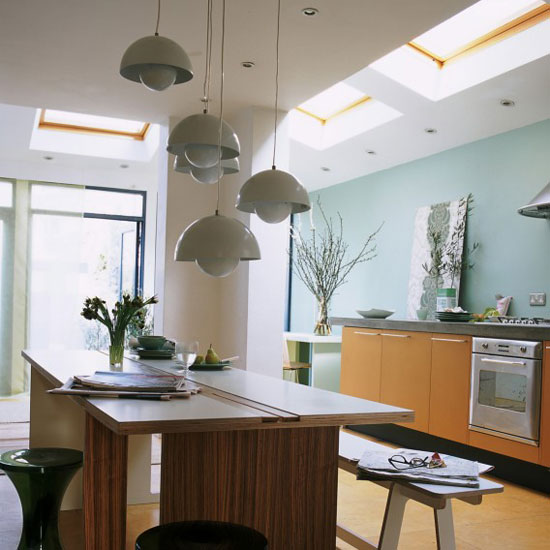 Kitchen Lighting Ideas - Multi-level lighting - Cabritonyc.com
